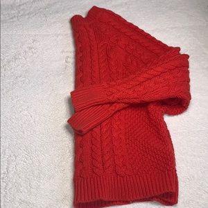 Orange aerie sweater